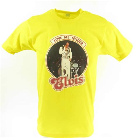 7 Great Shops For Retro Tees by Vintage 70s Elvis T Shirt Mens L Deadstock Me