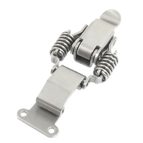 spring loaded and latch compression spring loaded stainless steel toggle latch