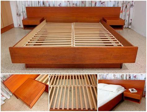 diy king size floating platform bed plans tcworksorg
