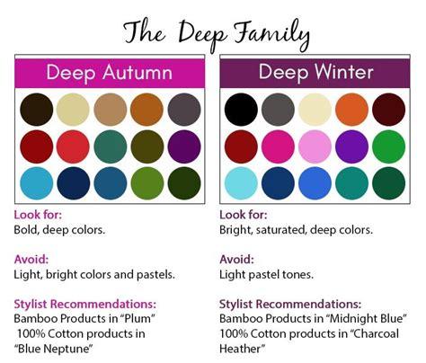 deep autumn color palette 25 best ideas about deep winter palette on pinterest