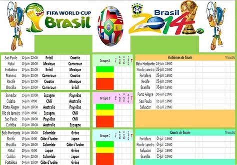 Coupe Du Monde Calendrier T 233 L 233 Charger Calendrier Coupe Du Monde Br 233 Sil 2014