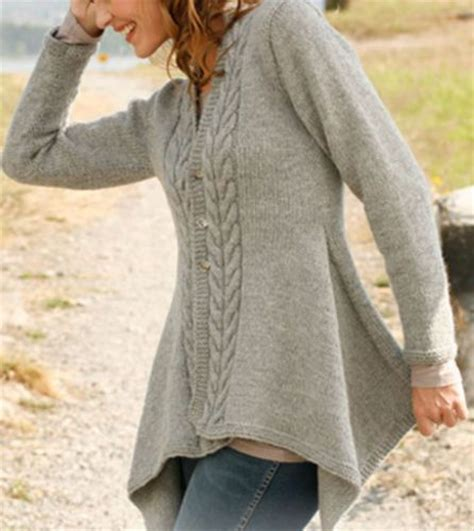 swing cardigan knitting pattern lady knitting patterns and swings on pinterest