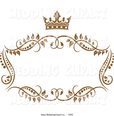Wedding Border Vector by Royalty Free Crown Stock Wedding Designs Wedding
