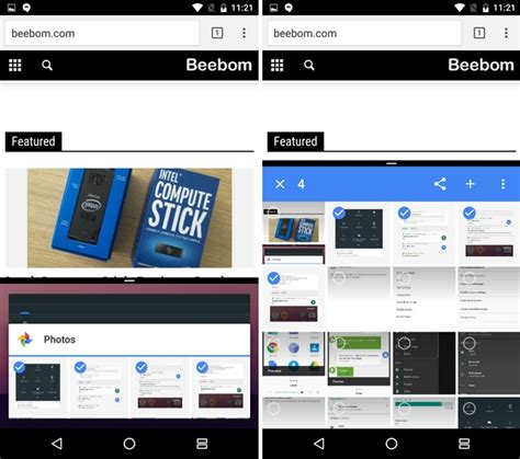 android multi window android n vs android marshmallow what has changed beebom