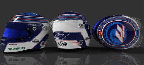 helmet design job williams 2014 helmets racedepartment