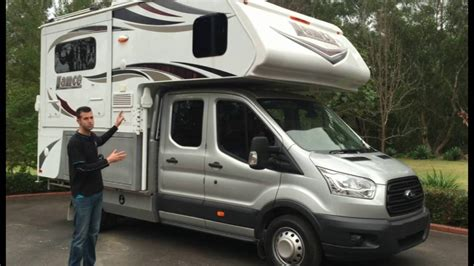 ford transit rv this motorhome can be driven on a car licence ford