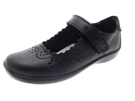 size 8 kid shoes bms buckle my shoe real leather school shoes
