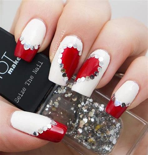 pictures of nail designs for valentines day 50 s day nail ideas and design