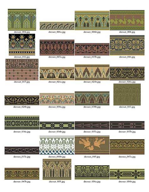adobe illustrator create border pattern christopher dresser studies in design border brushes