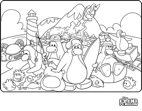 club penguin coloring pages coloring pages club penguin cheats secrets tips more