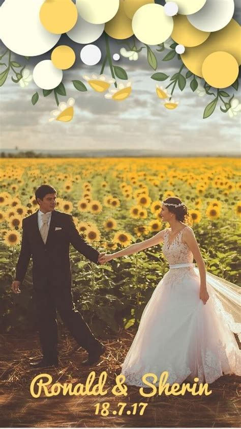 Ten Snapchat Geofilters Ideas For Your Wedding