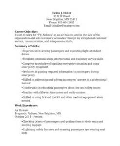 Sample Resume For Hostess Hostess Resume Ditrio