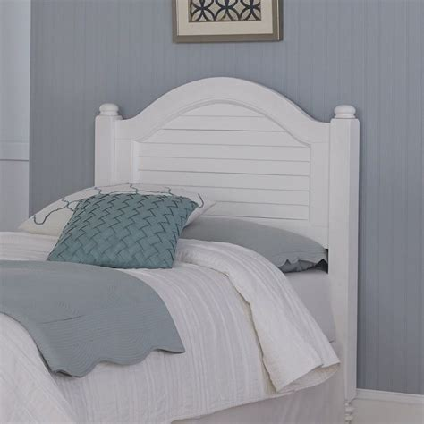 shutter bed wood shutter twin headboard in white 5543 401