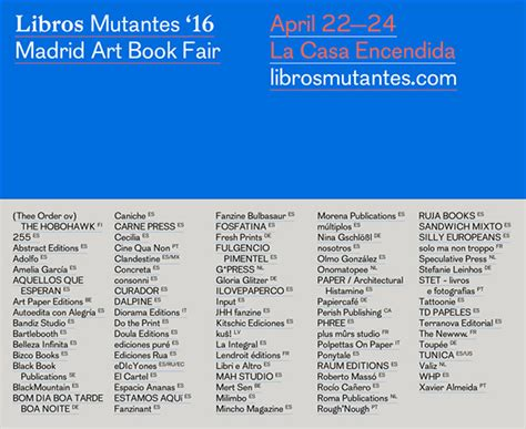 libro la casa encendida 12 04 2016 toup 233 e at libros mutantes 16 madrid art book fair toup 233 e