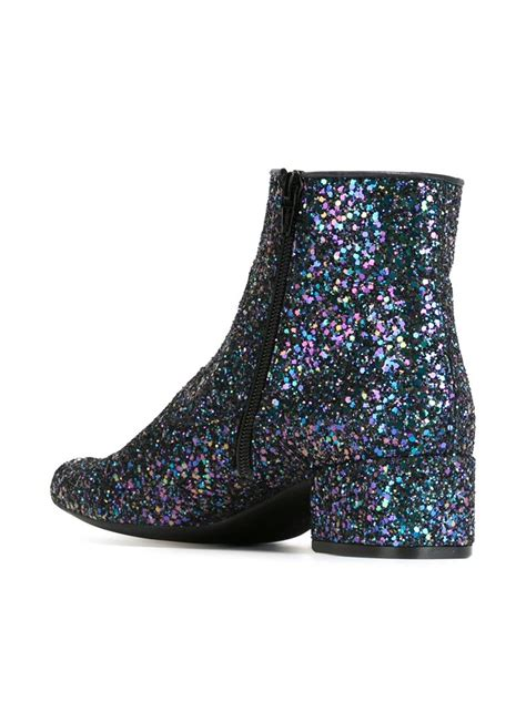 pretty boots pretty ballerinas ankle boots in blue lyst