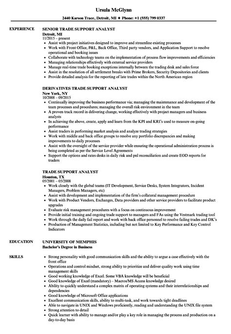 Cdo Analyst Cover Letter by Cdo Analyst Sle Resume Task List Template Free Purdue Owl Cover Letter