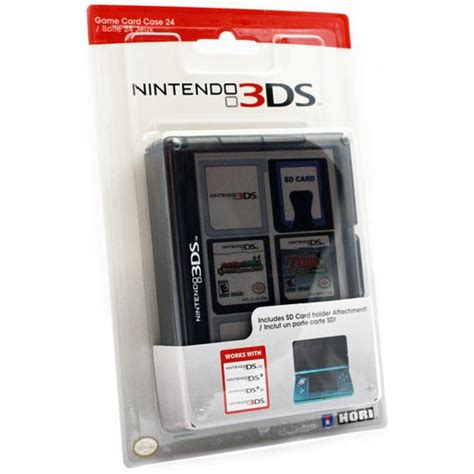 Nintendo 3ds Gift Card - nintendo 3ds game card case 24 black new ebay