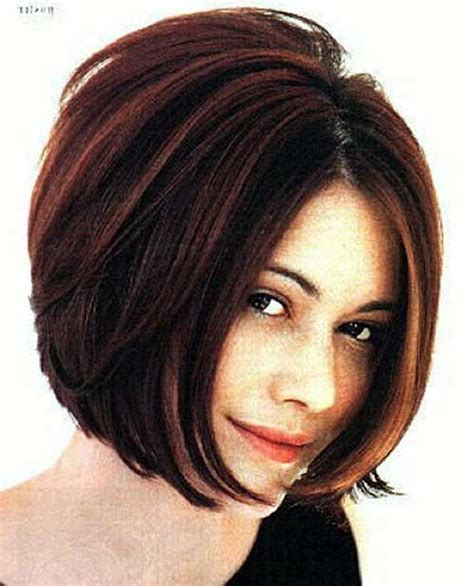 bob hairstyles for round faces and thick hair bob hairstyle around face 2016