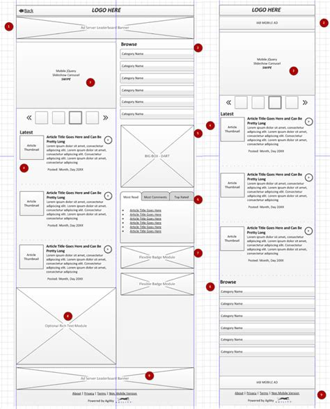 responsive wireframes wireframes pinterest screen wireframe web design and design process on pinterest