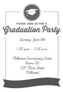 quot ribbon graduation quot printable invitation template customize add text and photos print or