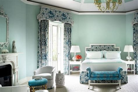 cat bilik tidur warna biru design rumah terkini
