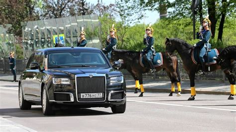 New Limo by Vladimir Putin Debuts His New Limo At Inauguration
