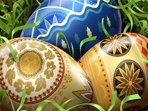 colorful easter wallpaper easter eggs decorations colorful easter eggs wallpapers