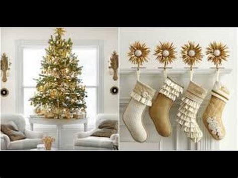 decoracion de navidad en dorado  ideas wow maraviloso