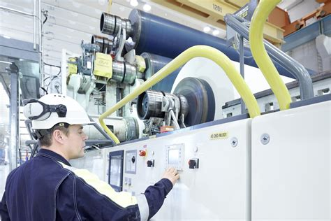 Sappi Paper Process - abb nets service contract at sappi paper mill process