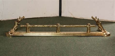 modern fireplace fenders brass fireplace fender for sale at 1stdibs