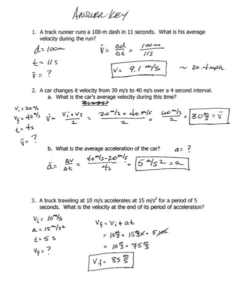 distance and displacement worksheet with answers speed and velocity worksheet answer key physics classroom deployday
