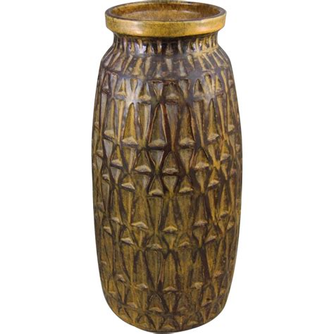 mid century geometric patterns raymor mid century modern geometric pattern floor vase
