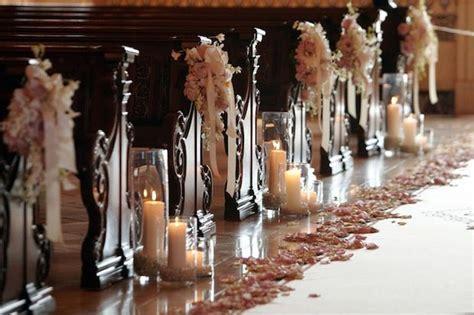 como decorar velas para matrimonio pasillos con velas blog de bodas de una boda original