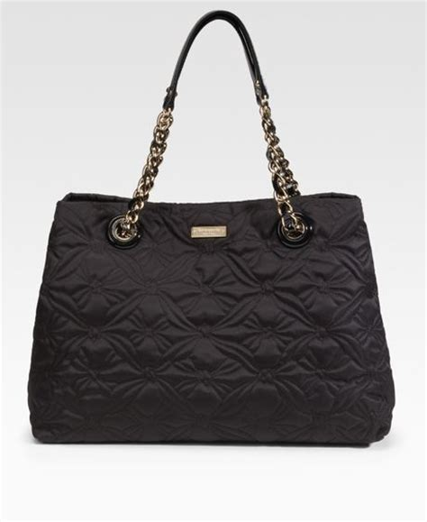 Kate Spade Black Quilted Purse by Kate Spade Maryanne Quilted Shoulder Bag In Black Lyst
