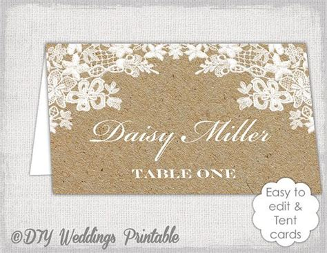 Wedding Place Card Template Rustic by Best 25 Rustic Place Cards Ideas On Wedding