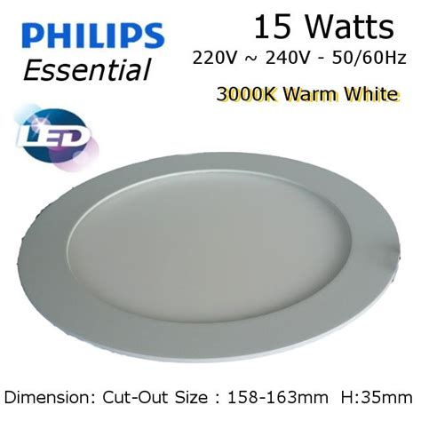 Lu Downlight Led Malaysia philips led downlight 15w 6 3000k end 10 28 2018 12 15 pm