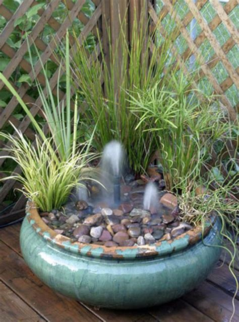 Big Ideas In Little Spaces Water Gardening In A Small Area Small Water Garden Ideas