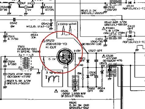 transistor horizontal d1877 solucionado quema el transistor salida horizontal yoreparo