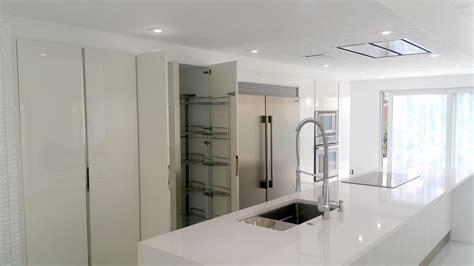 italian kitchen design  white miami general contractor