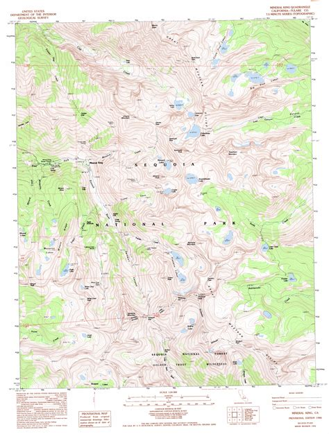what is a topographic map usgs topographic map sle