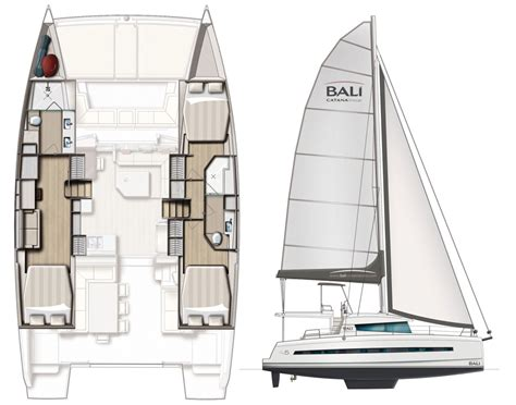 bali catamaran bluewater boat review bali 4 5 sail magazine