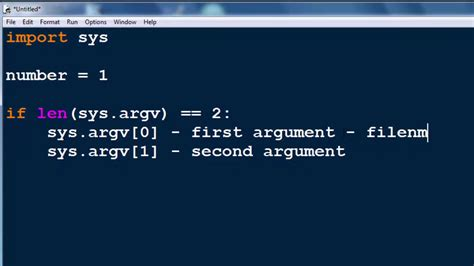 python tutorial command line arguments command line arguments in python programming language sys