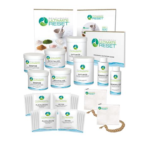 The Ultimate Reset Detox by Beachbody S Ultimate Reset Cleanse The Fit Club Network
