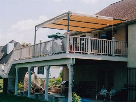 build deck awning perfect deck awning doherty house how to build deck awning