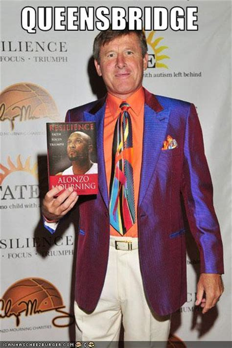 Craig Sager Wardrobe by Artest Just Gotta Keep Basketball Reppin