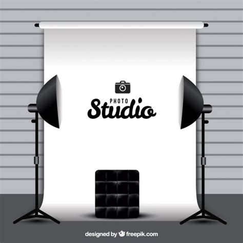 Photography Studio by Photography Studio With White Background Vector Free
