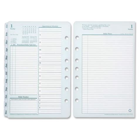 covey planner template franklin covey classic planner refill fdp3541911 ebay