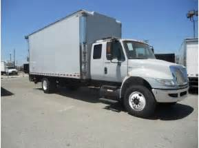 Box Truck With Sleeper by International Box Truck 22 Cab Sleeper Expeditor