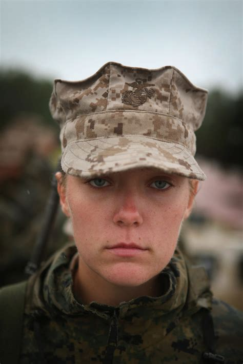 women hairstyles accepted in usmc women attend parris island marine boot c photos
