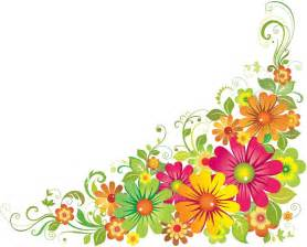 corner flower borders clipart best